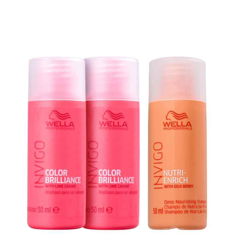Kit Wella Professionals Nutri Brilliance Wash (3 Produtos)