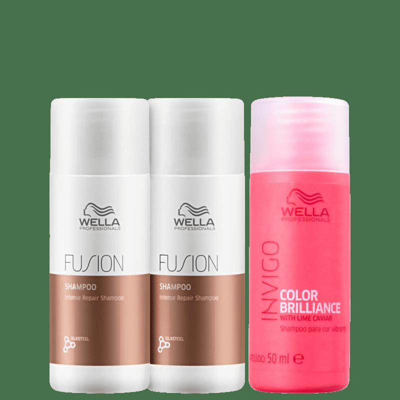Kit Wella Professionals Fusion Color Wash (3 Produtos)
