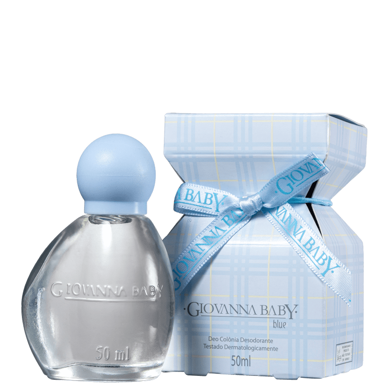 Blue Giovanna Baby Deo Colônia - Perfume Infantil 50ml