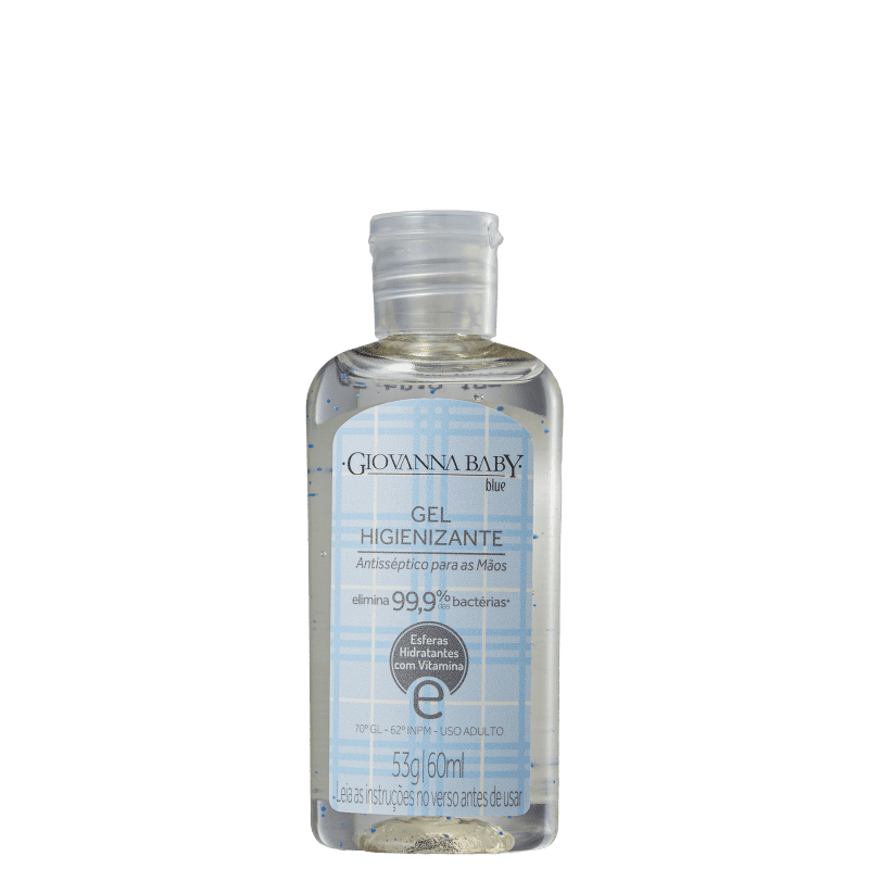 Giovanna Baby Blue Álcool Gel 70% - Gel Antisséptico 60ml