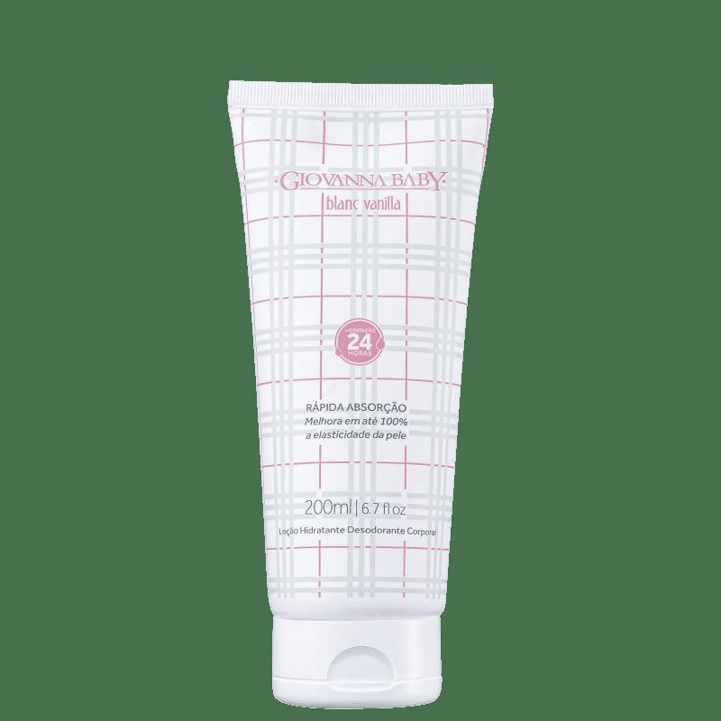 Giovanna Baby Blanc Vanilla - Loção Hidratante Corporal 200ml