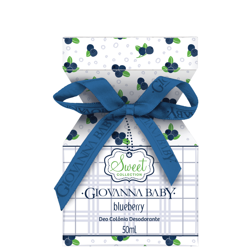 Blueberry Giovanna Baby Deo Colônia - Perfume Feminino 50ml