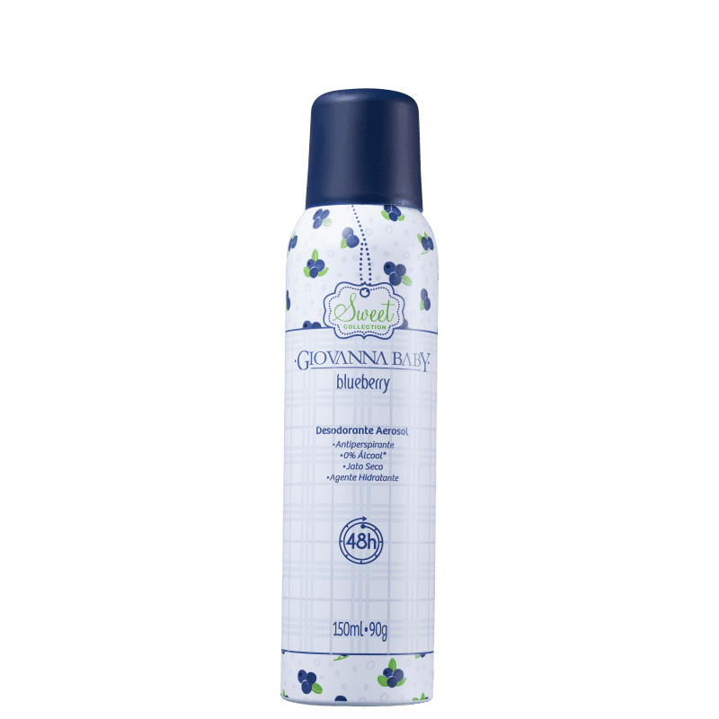 Giovanna Baby Sweet Collection Blueberry - Desodorante Spray 150ml