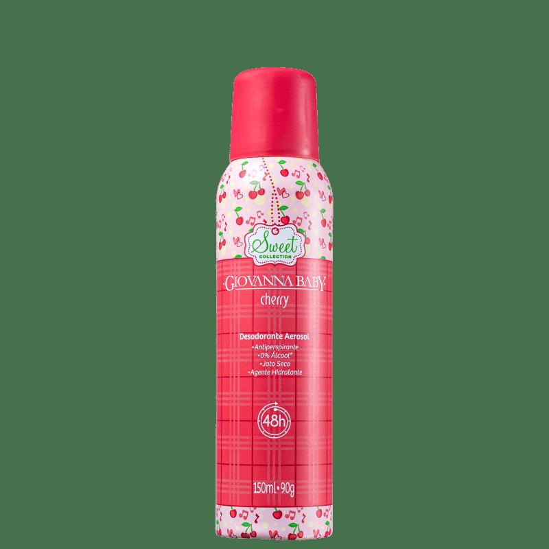 Giovanna Baby Cherry - Desodorante Spray Feminino 150ml