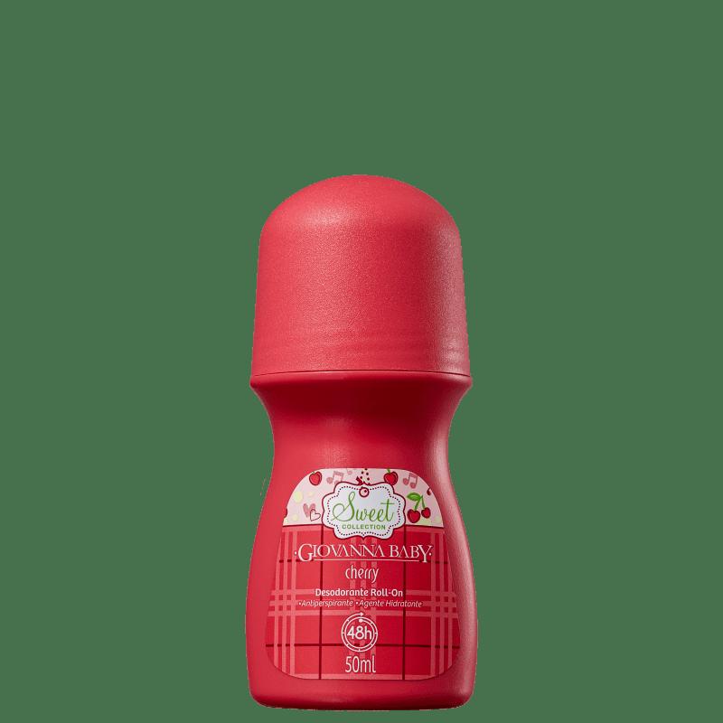 Desodorante Roll-on Giovanna Baby Cherry Feminino 50ml