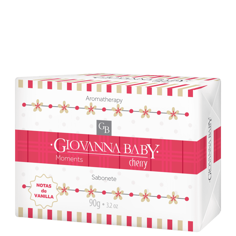 Giovanna Baby Moments Cherry - Sabonete em Barra 90g