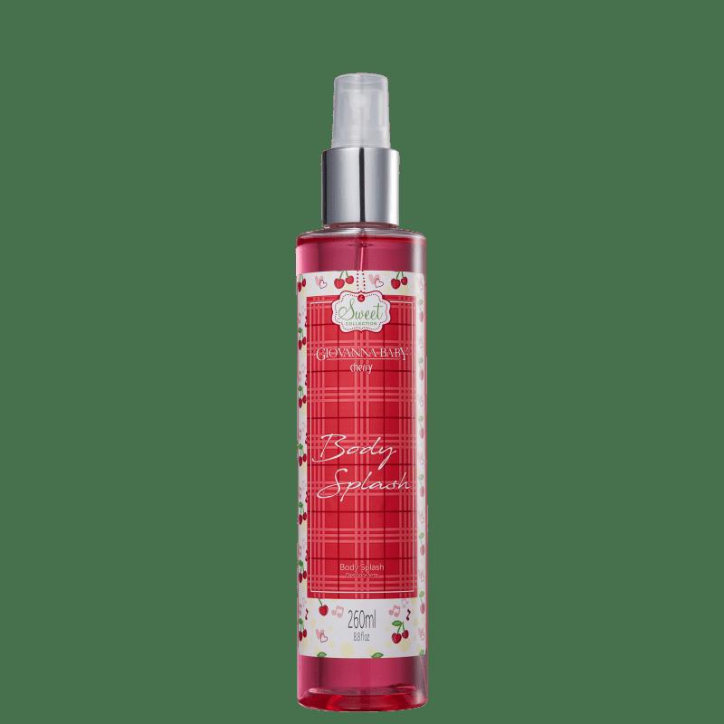 Body Spray Giovanna Baby Cherry Feminino 260ml