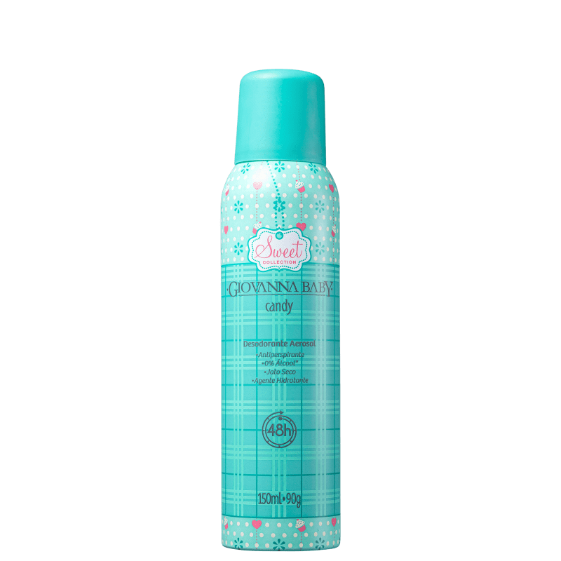 Giovanna Baby Candy - Desodorante Spray Feminino 150ml