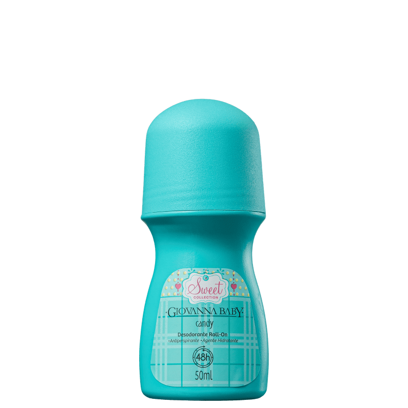 Giovanna Baby Candy - Desodorante Roll-on Feminino 50ml