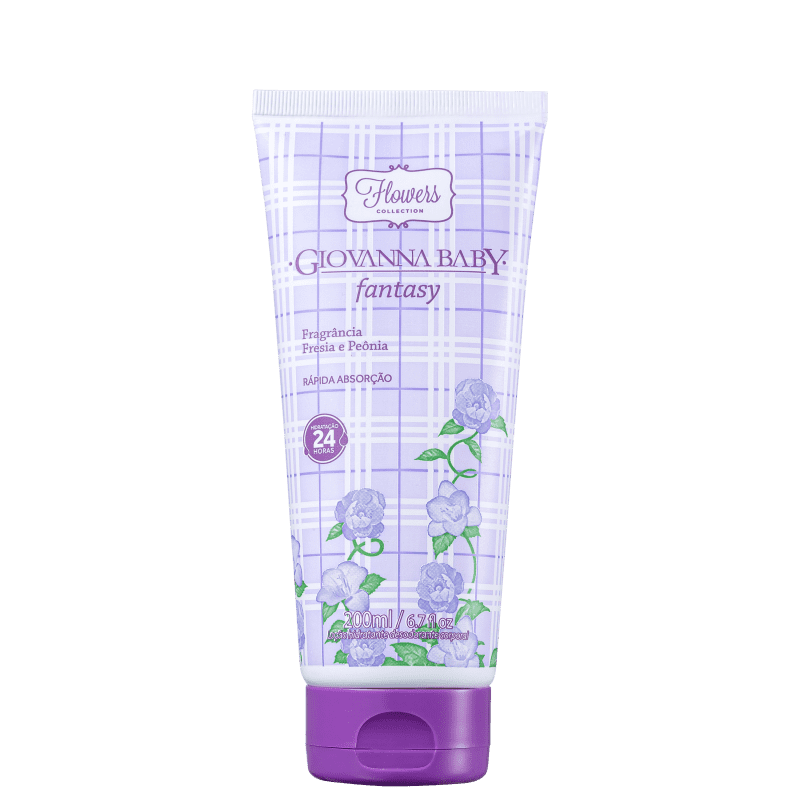 Giovanna Baby Flowers Collection Fantasy - Loção Hidratante Corporal 200ml