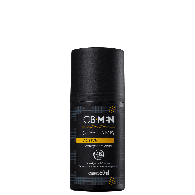 Giovanna Baby GB Men Active - Desodorante Roll-on Masculino 50ml