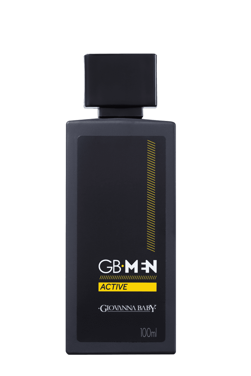 GB Men Active Giovanna Baby Deo Colônia - Perfume Masculino 100ml