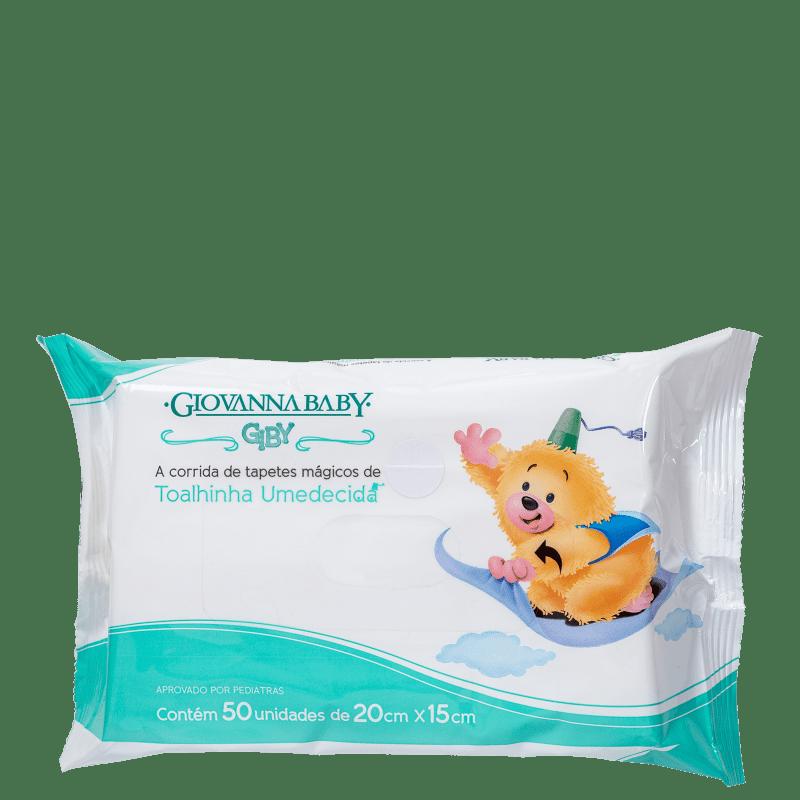 Giovanna Baby Giby - Lenços de Limpeza (50 unidades)