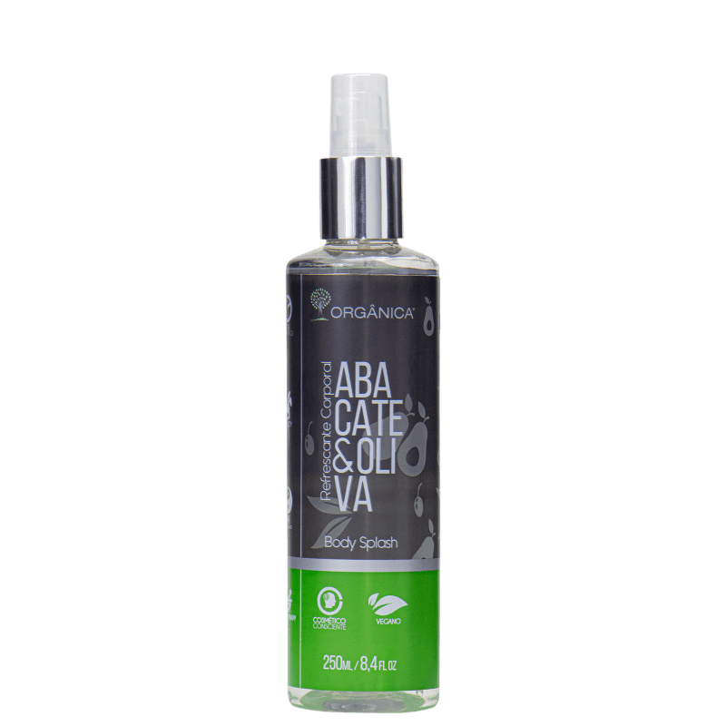 Orgânica Abacate e Oliva - Body Spray Feminino 250ml