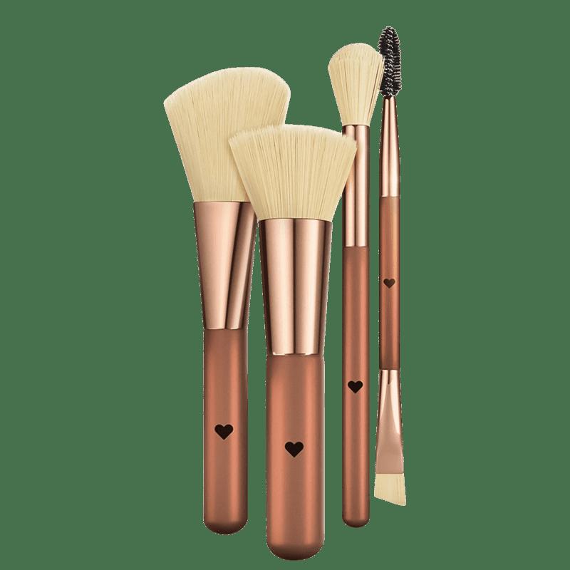 quem disse, berenice? Metal Bronze - Kit de Pincéis (4 produtos)