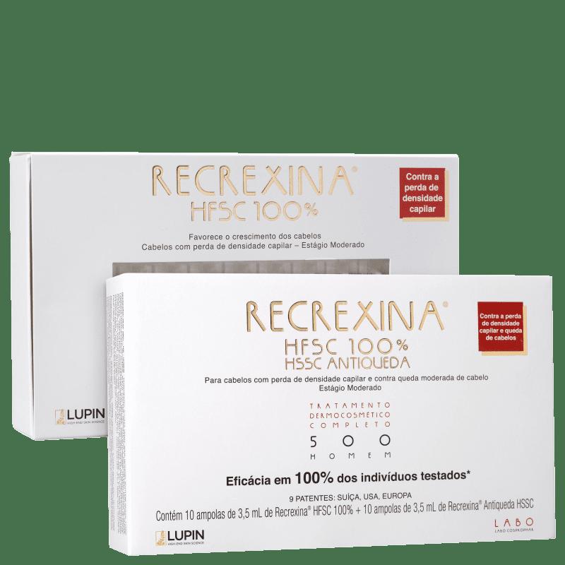 Kit Recrexina HFSC 100% + HSSC 500 Homem (2 Produtos)