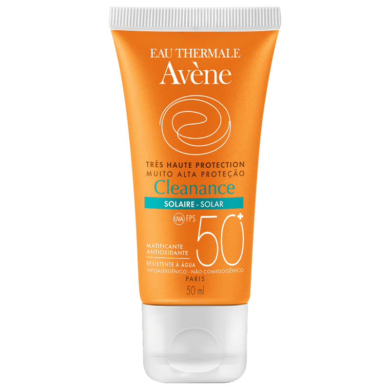 Avène Cleanance FPS 50 - Protetor Solar Facial 50ml