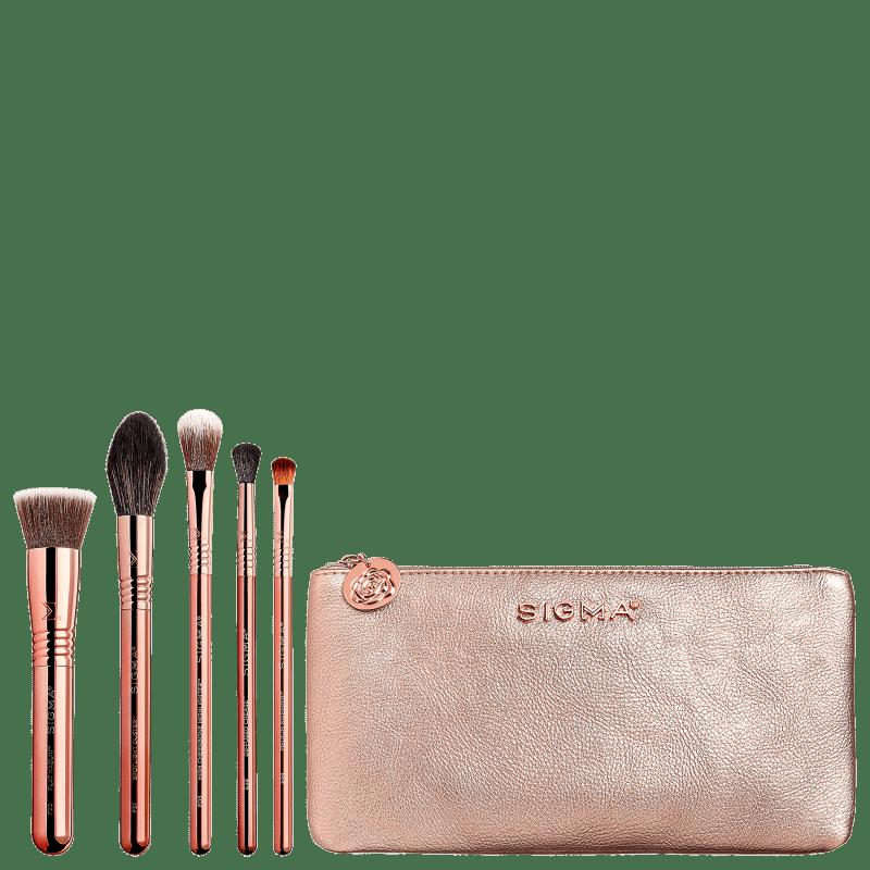 Kit de Pincéis Sigma Beauty Iconic (6 Produtos)