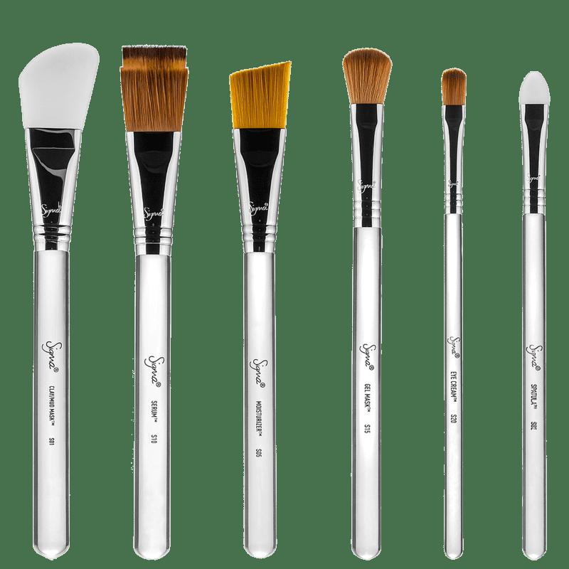 Kit de Pincéis Sigma Beauty Skincare (6 produtos)