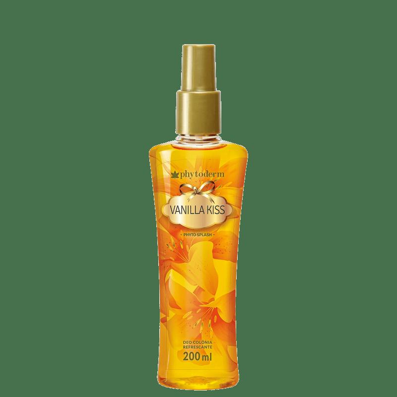 Phytoderm Vanilla Kiss Deo Colônia - Body Spray Feminino 200ml