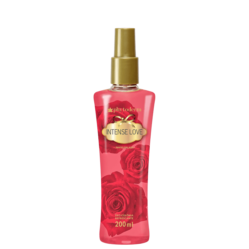 Body Spray Phytoderm Intense Love Feminino Deo Colônia 200ml