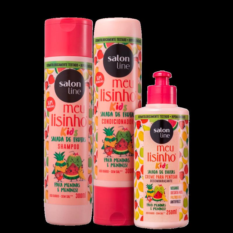 Kit Salon Line Meu Lisinho Frutas Trio (3 Produtos)