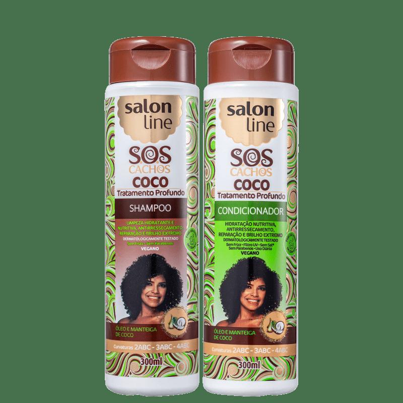 Kit Salon Line S.O.S Cachos Coco Duo (2 Produtos)