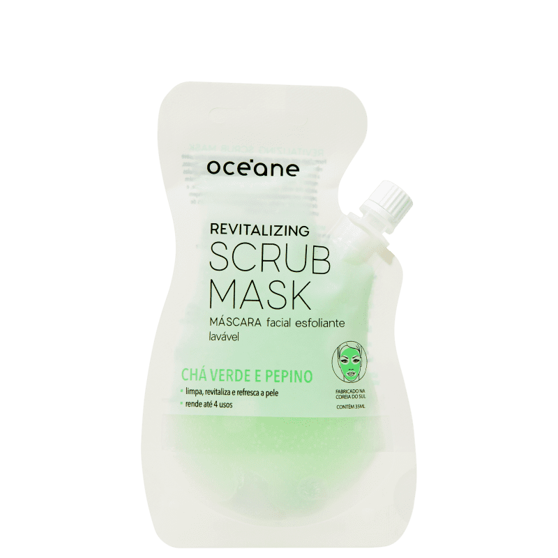 Océane Revitalizing Scrub Mask - Máscara Facial 35ml