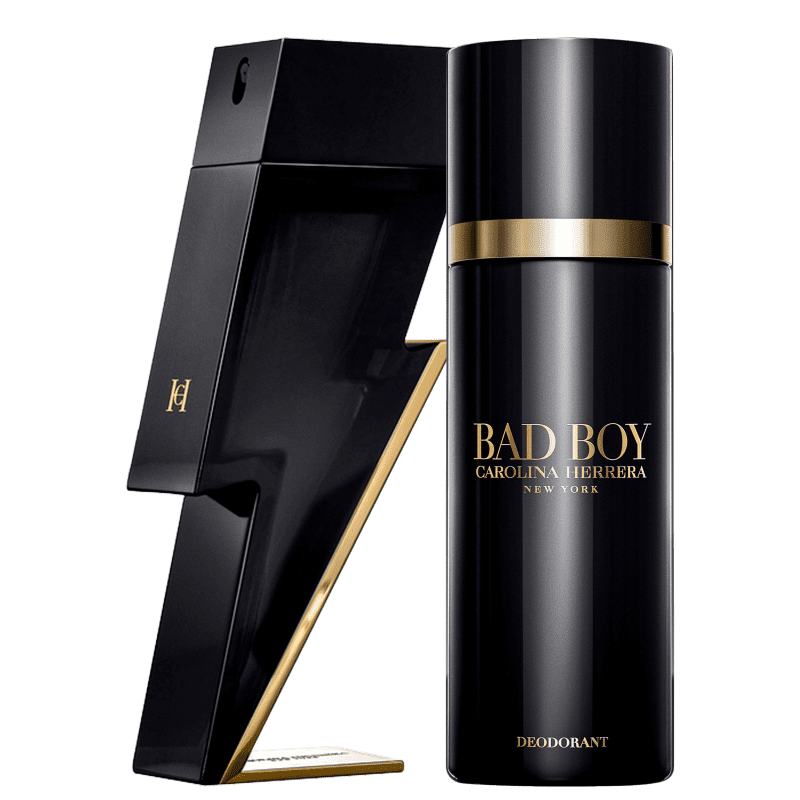 Conjunto Bad Boy Carolina Herrera - Eau de Toilette 100ml + Desodorante 100ml