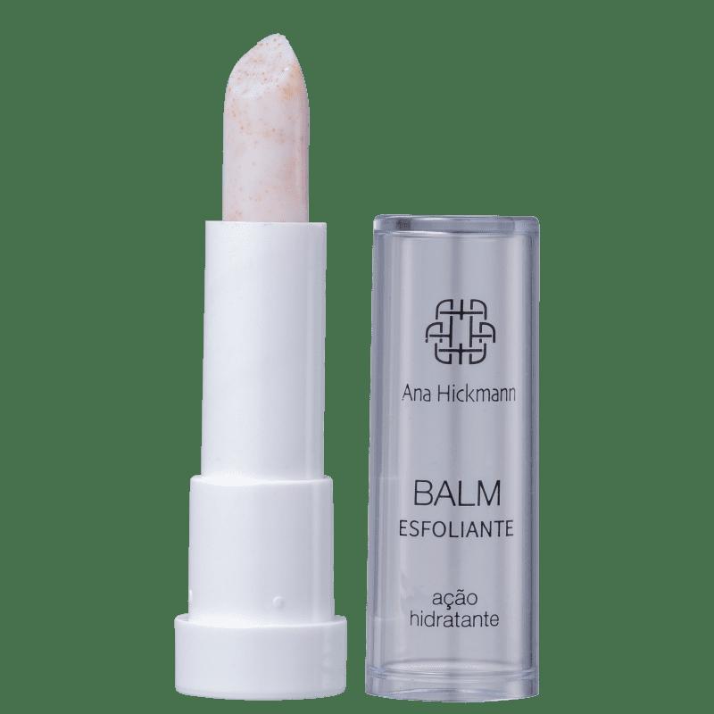 Ana Hickmann Beauty Balm Esfoliante com Damasco - Bálsamo Labial 3g