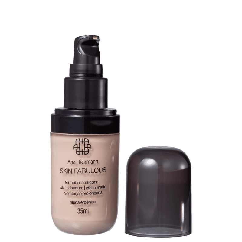 Ana Hickmann Beauty Skin Fabulous 01 Médio - Base 35ml