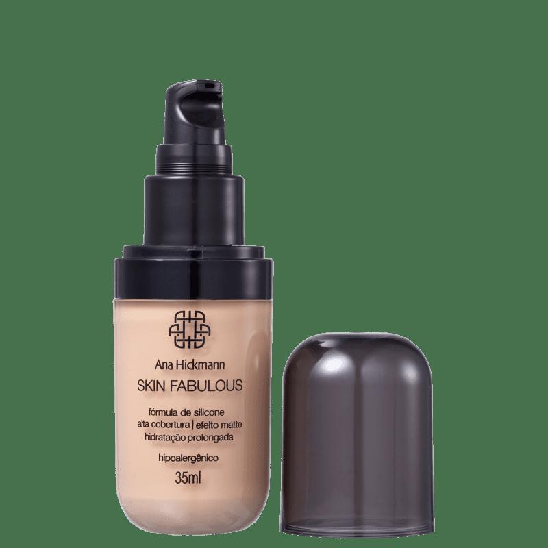 Ana Hickmann Beauty Skin Fabulous 01 Escuro - Base 35ml