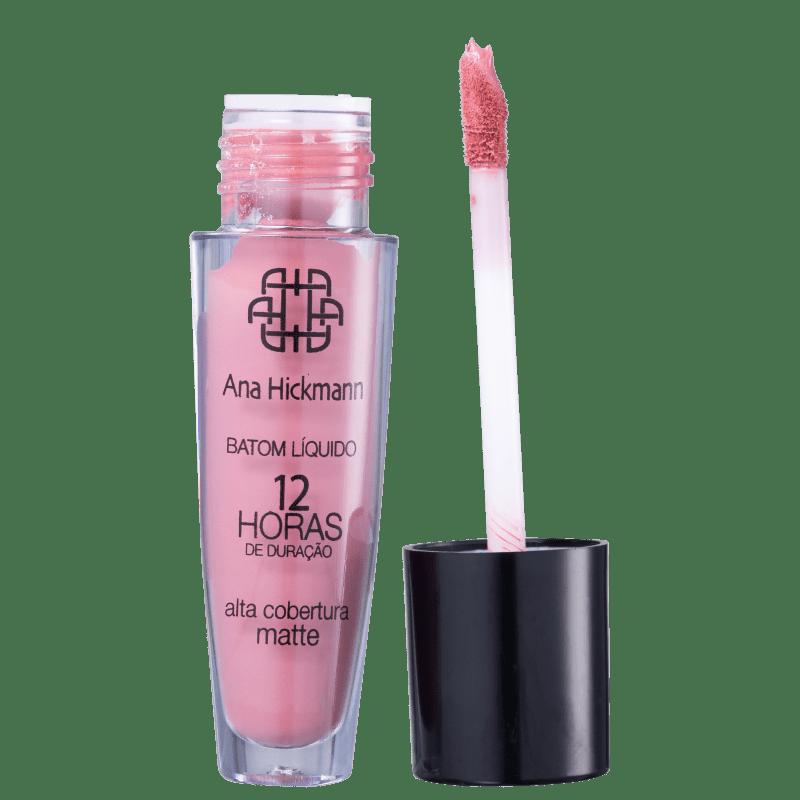Ana Hickmann Beauty 12Hs All Blush 06 - Batom Líquido 5ml