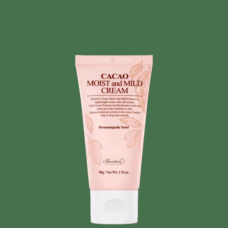 Creme Hidratante Facial Benton Cacao Moist and Mild 50g
