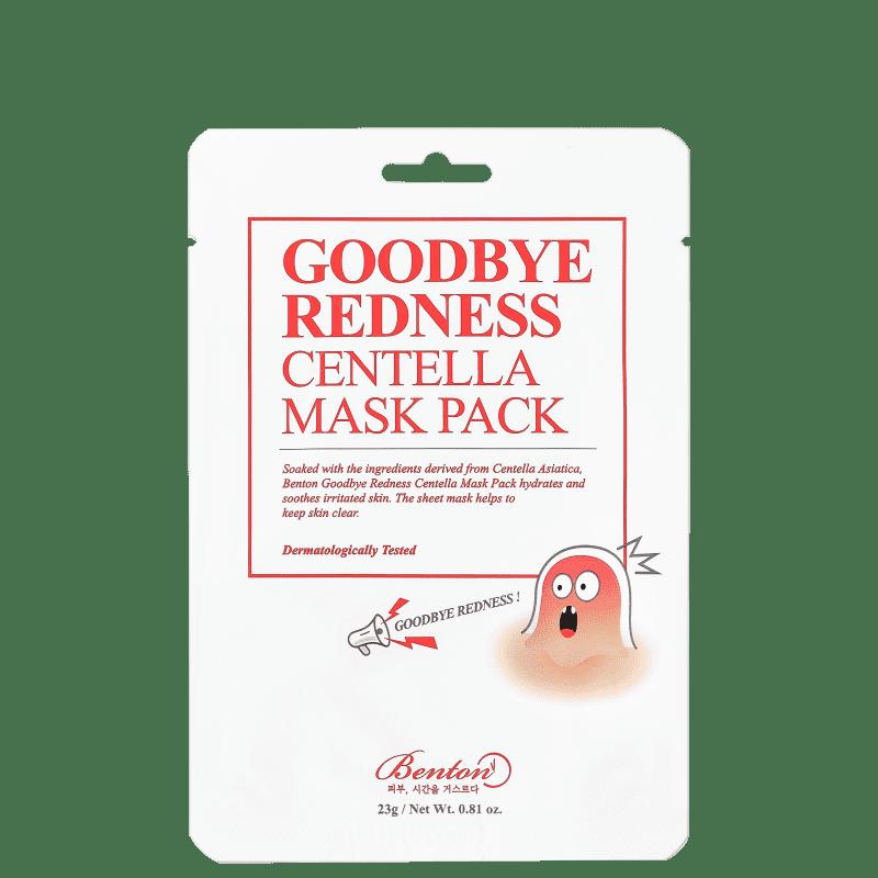 Benton Goodbye Redness Centella - Máscara Facial 23g