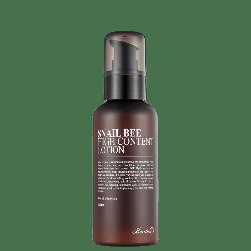Benton Snail Bee High Content Lotion - Loção Hidratante Facial 120ml