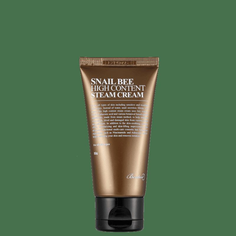 Creme Hidratante Facial Benton Snail Bee High Content Steam Cream 50g