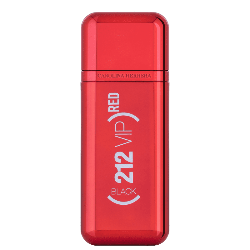 212 VIP Men Back Red Edição Limitada Carolina Herrera Eau de Parfum - Perfume Masculino 100ml