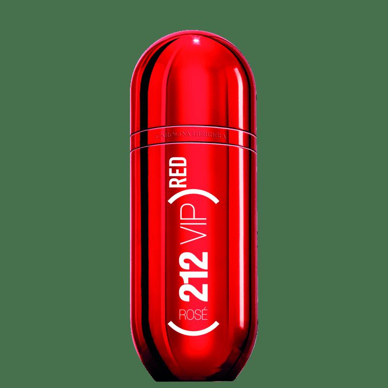 Perfume 212 VIP Rosé Red Edição Limitada Carolina Herrera Feminino Eau de Parfum 80ml