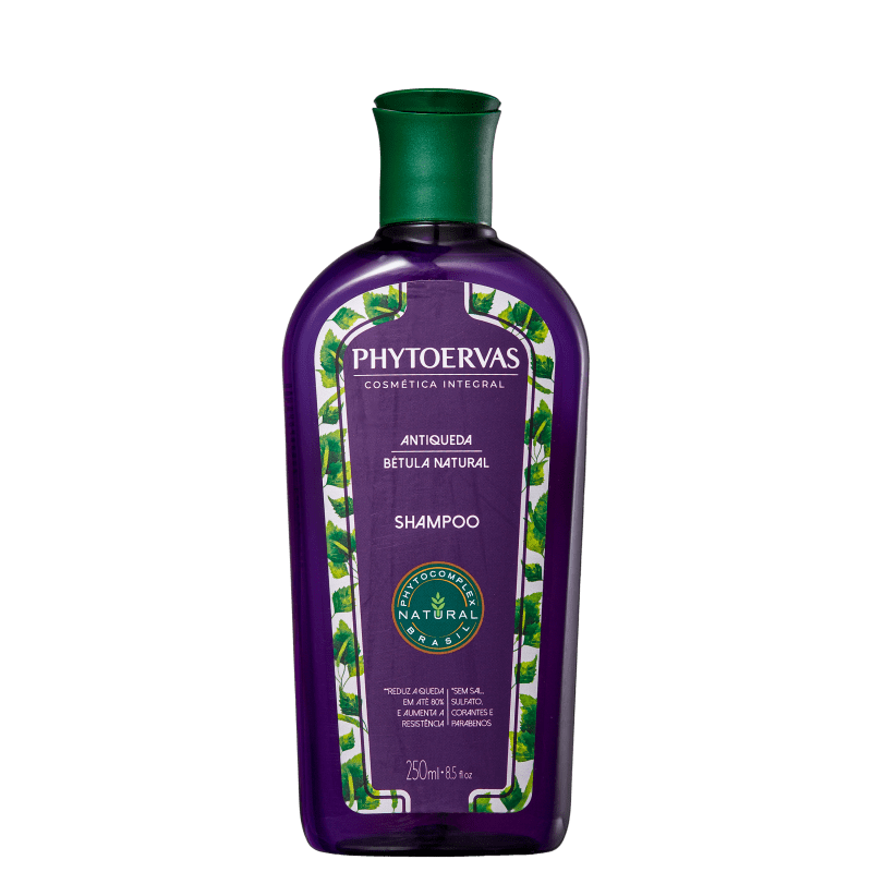 Phytoervas Antiqueda Bétula Natural - Shampoo 250ml