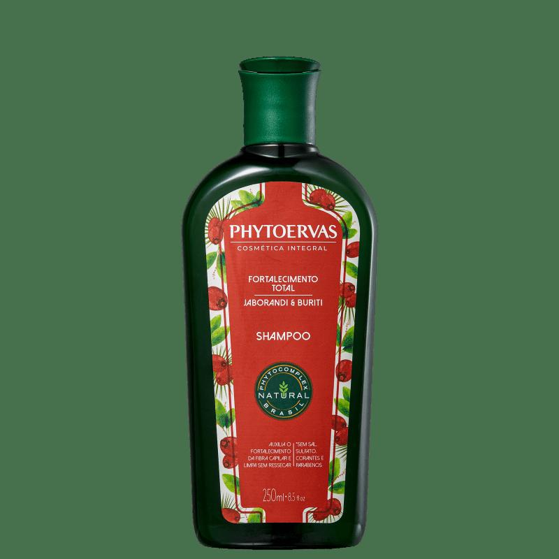 Shampoo Phytoervas Fortalecimento Total Jaborandi e Buriti 250ml