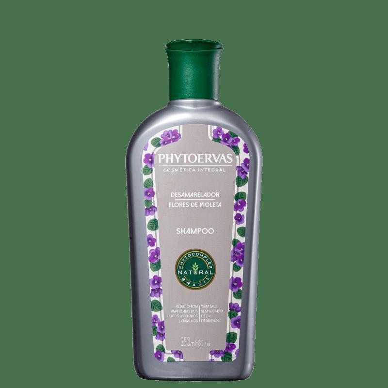 Shampoo Phytoervas Desamarelador Flores de Violeta 250ml