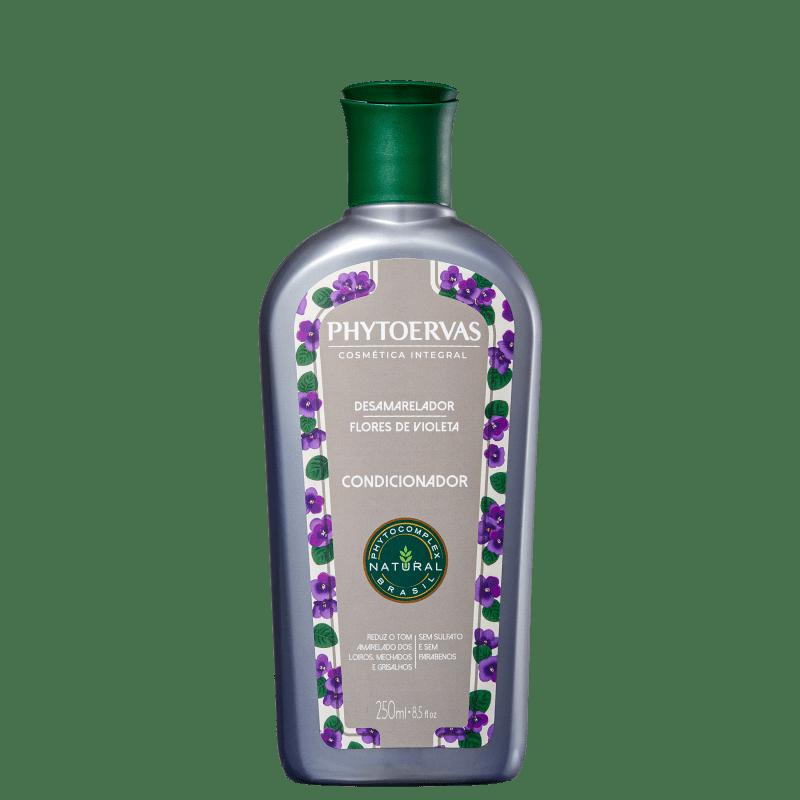 Phytoervas Desamarelador Flores de Violeta - Condicionador 250ml