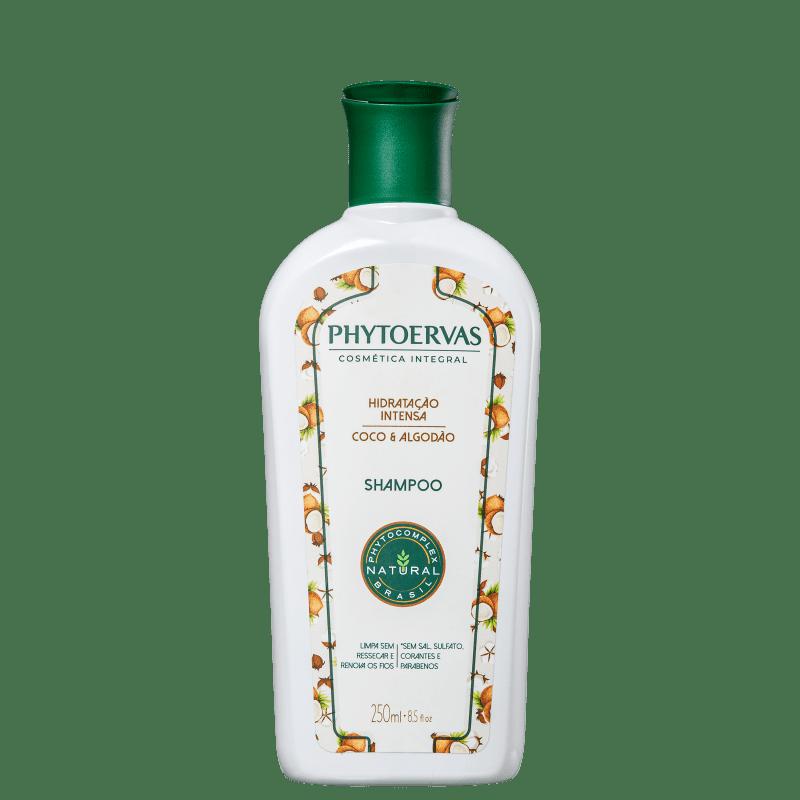 Phytoervas Hidratação Intensa Coco e Algodão - Shampoo 250ml