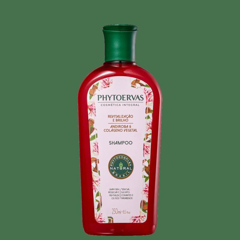 Phytoervas Revitalização e Brilho Andiroba e Colágeno Vegetal - Shampoo 250ml