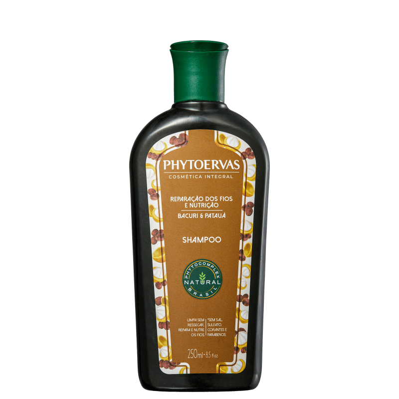 Phytoervas Reparação dos Fios e Nutrição Bacuri e Patauá - Shampoo 250ml