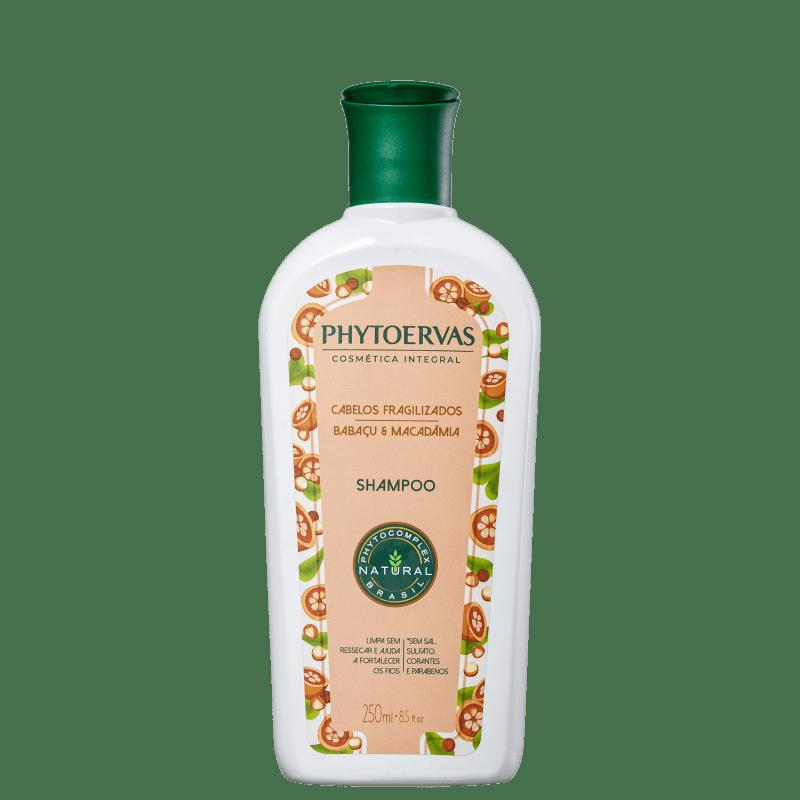 Phytoervas Cabelos Fragilizados Babaçu e Macadâmia - Shampoo 250ml