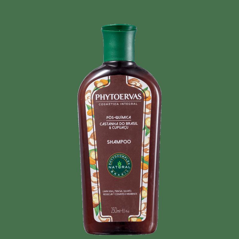 Phytoervas Pós-Química Castanha do Brasil e Cupuaçu - Shampoo 250ml