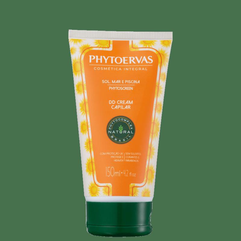 Phytoervas Sol, Mar e Piscina DD Cream - Creme de Pentear 150g