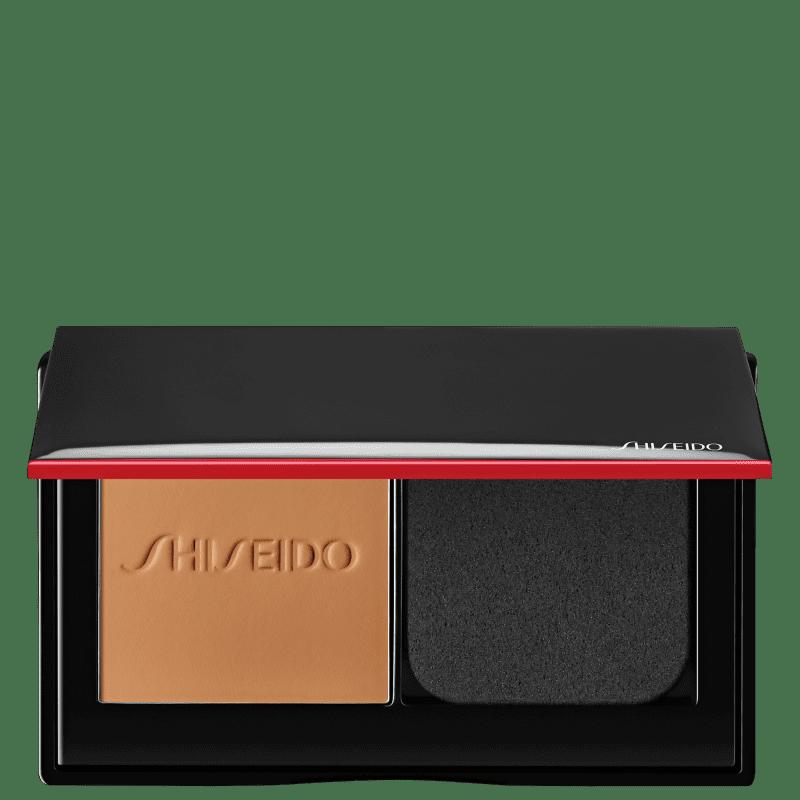 Shiseido Synchro Skin Self-Refreshing Custom Finish 350 Maple - Base em Pó 9g